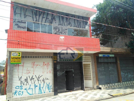 Prédio Comercial À Venda, Centro, Suzano. - Pr0001