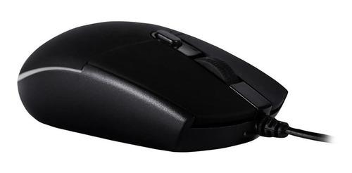 Mouse Gamer Game Orium, Led, 6 Botões, 3200 Dpi, Preto Ms32