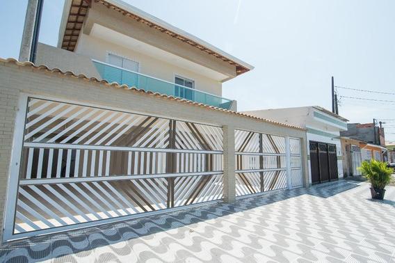 Casa Em Jardim Quietude, Praia Grande/sp De 45m² 2 Quartos À Venda Por R$ 160.000,00 - Ca167539