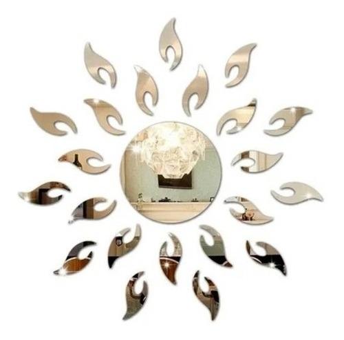 Espelho Decorativo Sol 61x61cm - Promoção