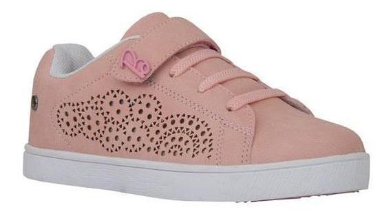 Tenis Casuales Para Niñas (licencia Original) Rosado Barbie