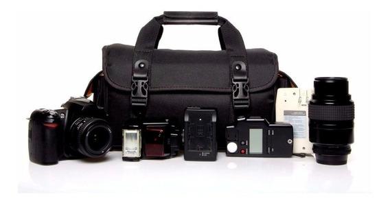 Bolsa Tc Fotogrtafia P/ Nikon D3100 D3200 D3300 D3400 D3500 D5200 D5300 D5400 D5500 D5600 D7500 D7200 D7100 D750 D500