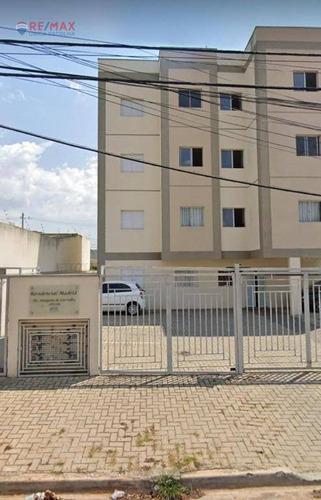 Apartamento Para Alugar, 53 M² Por R$ 950,00/mês - Jardim Wanel Ville V - Sorocaba/sp - Ap3051