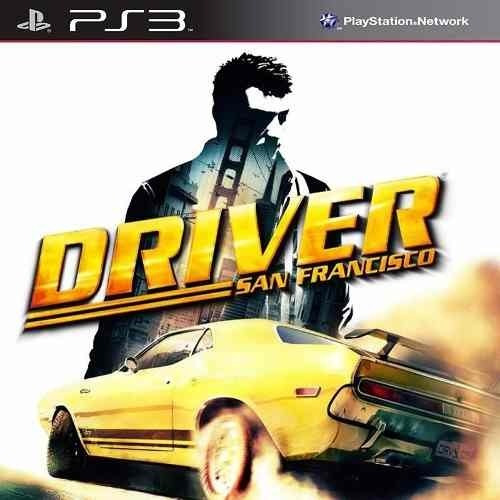 Driver San Francisco - Jogos Ps3 Play3 Psn