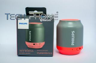 Parlante Philips Inalámbrico Bluetooth Bt250g - Tech Phone