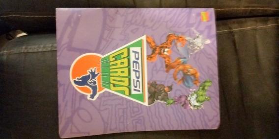 Album Pepsi Cards Marvel Original Casi Completo