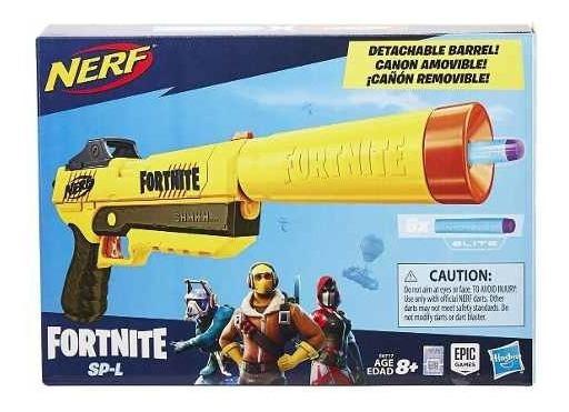 Lançador Nerf Fortnite Spl Sneaky Spring Fall E7063 - Hasbro