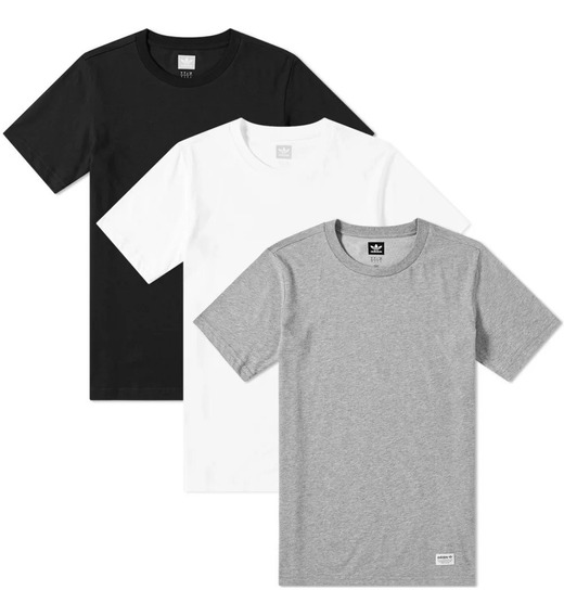 Remera adidas Hombre Three-pack / Brand Sports