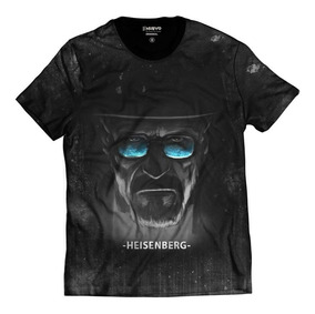 Camisa Camiseta Heisenberg Walter White Breaking Bad