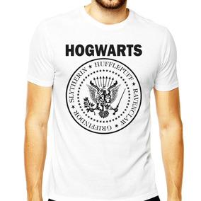 Camiseta Slytherin Harry Potter Hogwarts Hufflepuff Potter