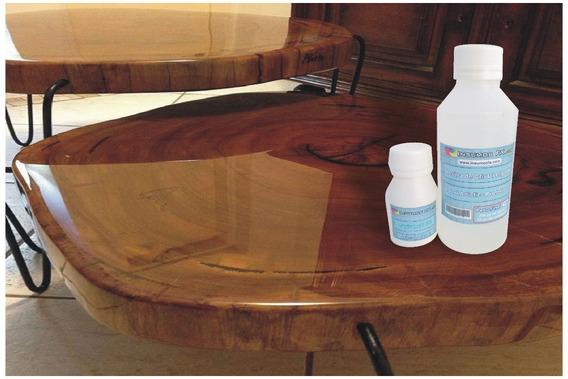 Resina De Cristal Epoxi - Vidrio Liquido Para Terminaciones