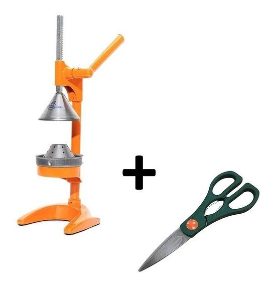 Exprimidor Citrus Jugo Exprimidor Manual Barbero + Tijera