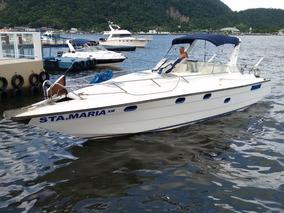 Lancha Motor Boat-34 Pés-santa Maria Xiii-2 Mercedes 352-a
