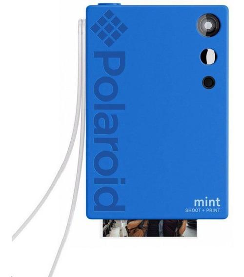 Câmera Polaroid Mint Shoot + Print - Blue Polsp02bl