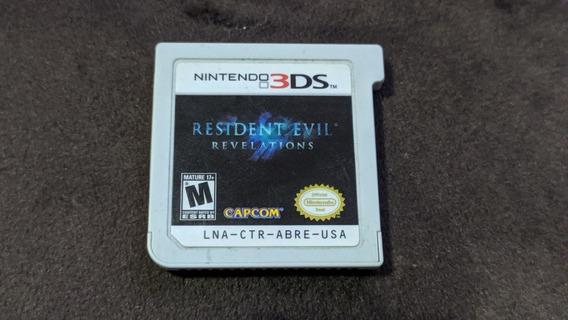 Resident Evil Revelations - Jogo Nintendo 3ds Ou 2ds