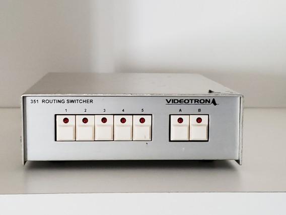 Videotron 351v Routing Switcher Cámaras De Tv Y/o Seguridad