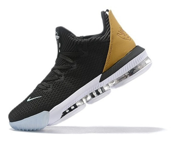 Tênis Nike Lebron 16 Low Soundtrack - Preto