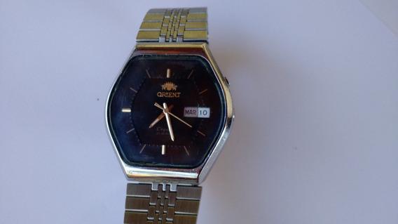 Relógio Orient Automático Raro Perfeito Caixa Sextavada
