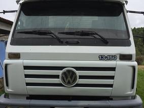 Volkswagen Vw 13150 4x2 Toco 2003 Bau De Aluminio De 8,5m