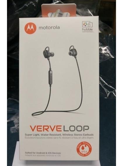 Audífonos Bluetooth Motorola Verve Loop, Stereo Original.