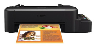 Impresora a color Epson EcoTank L120 110V negra