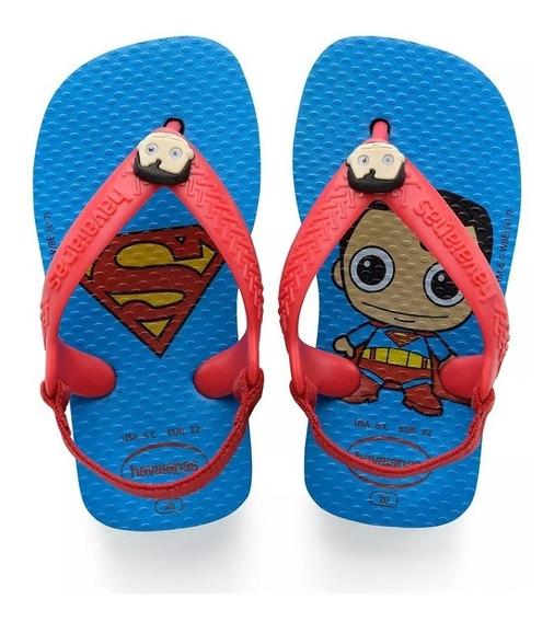 Chinelo Havaianas Super Homem Infantil
