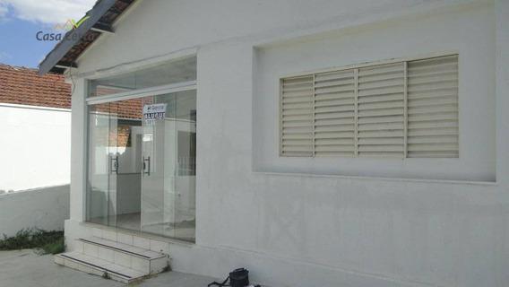 Casa Para Alugar, 200 M² Por R$ 1.300,00/mês - Centro - Mogi Guaçu/sp - Ca1025