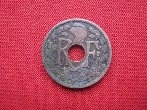Imagen 1 de 2 de Indochina Francesa 1/2 Cent 1936