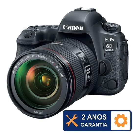 Kit Canon 6d Mark Ii Ef 24-105mm F/4l Is Ii Usm + Nfe