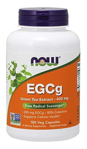 Now Foods Egcg Extracto De Té Verde 400mg, 4757, 1