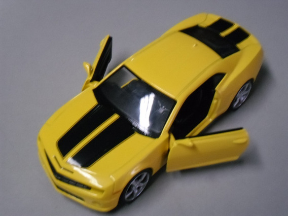 Miniatura Camaro Escala 1:32 Amarelo