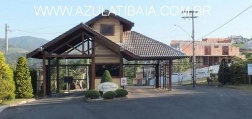 Imagem 1 de 6 de Terreno Em Condominio, Agua Verde Atibaia Portaria E Rondas 24 Horas, Proximo A Alameda Lucas - Te00238 - 69800290