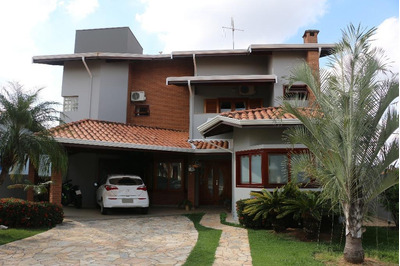 Casa Residencial À Venda, Condomínio Residencial Terras Do Caribe, Valinhos. - Ca2886