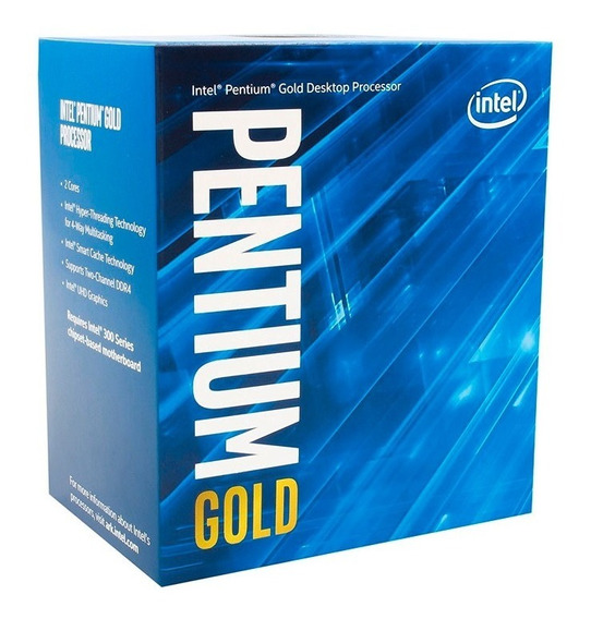 Processador Intel Pentium Gold G5400 Coffee Lake 3.7ghz 4mb