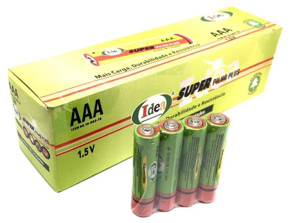 Pilha Aaa Palito Atacado Original Idea Caixa C/ 60 Unidades