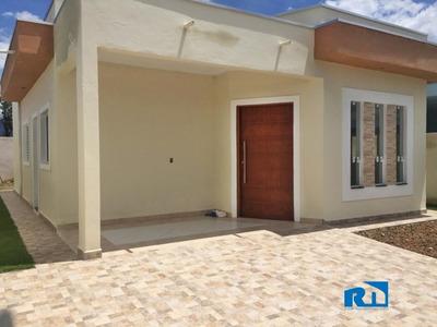 Casa Nova Com 02 Dormitórios - Caraguatatuba Sp - 1120