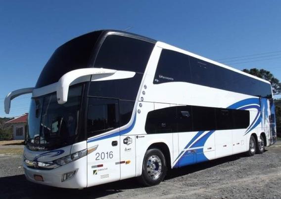 Ônibus Paradiso Dd Scania K 400 6x2 Leitão Único Dono Só Tur