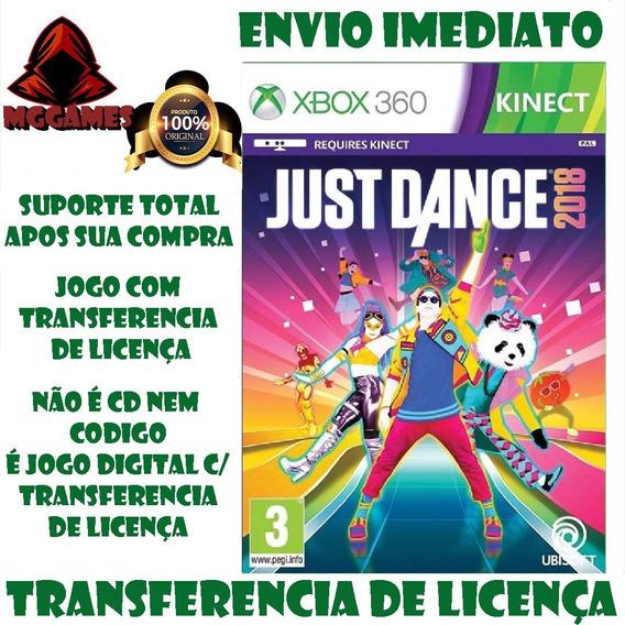 Just Dance 2018® Xbox 360 - Mdtransferencia De Licença