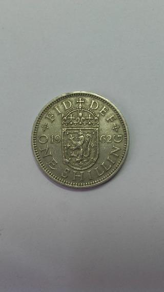 Moneda Six Pence Reino Unido 1956