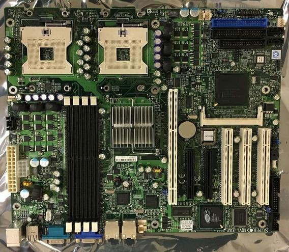 Placa Mâe Supermicro X6dvl-eg2 Intel Xeon Sata