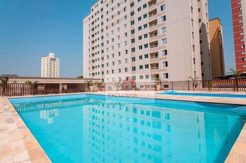 Imagem 1 de 18 de Apartamento Com 3 Dormitórios À Venda, 65 M² Por R$ 318.000,00 - Parque Industrial - São José Dos Campos/sp - Ap3380