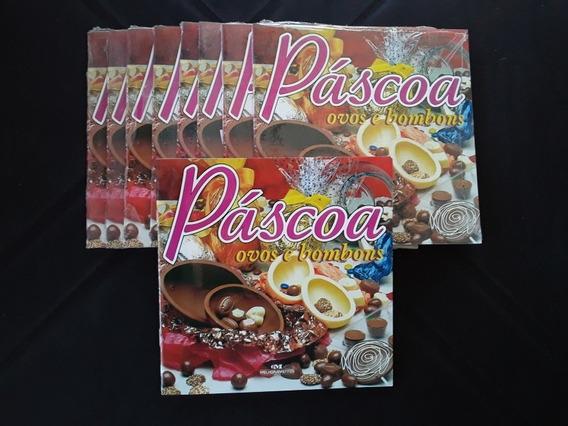 Lote 9 Livros De Receitas Mini Cozinha Páscoa Ovos Bombons