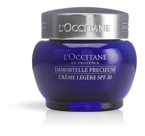 Crema Facial Ligera Spf20 Preciosa Immortelle, L'occitane