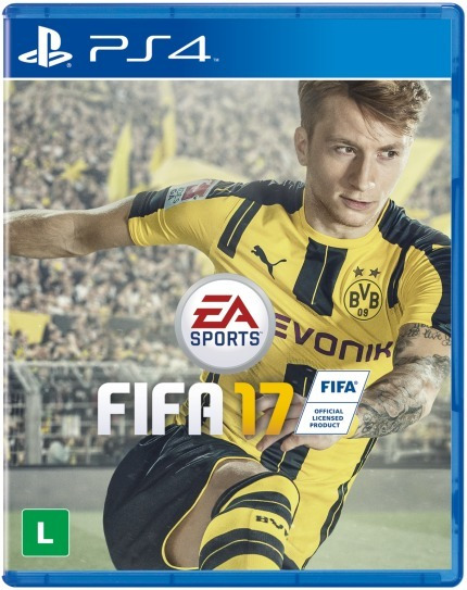 Fifa 17 - Mídia Física Playstation 4 Lacrado Novo Ps4