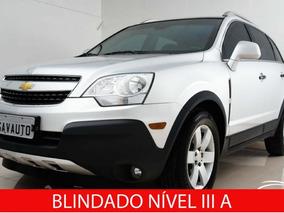 Chevrolet Captiva Sport Fwd 2.4 16v (blindado) 2012 Prata