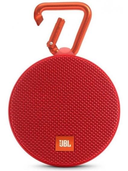 Caixa De Som Portátil Jbl Box Clip 2 Vermelho - 3w Bluetoot
