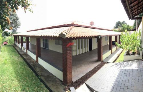 Imagem 1 de 13 de Chacara Com Piscina Em Condominio Fechado Cod:1037