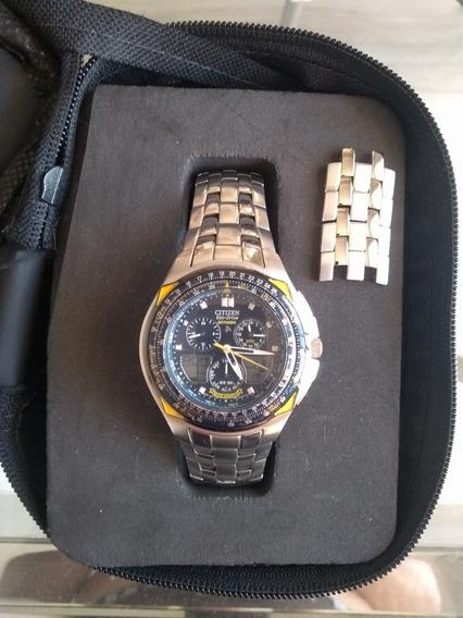 Relógio Citizen Blue Angels Jr3080-51m