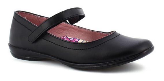 Zapato Flat Escolar 24 1/2 Piel Interior Tropicana C43