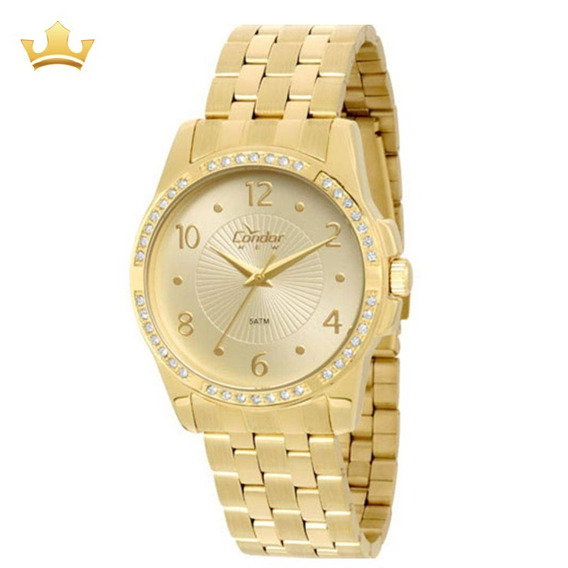 Relógio Condor Feminino Copc21an/4x Com Nf